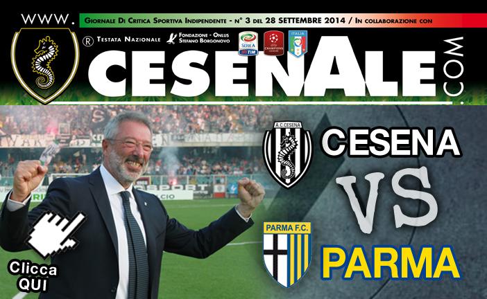 Anteprima Cesena Parma