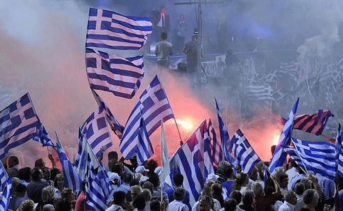GRECIA VINCE IL NO 60%