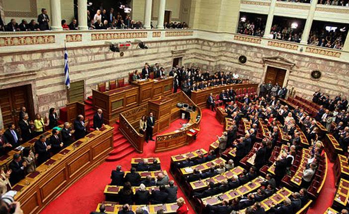 Si 39 del parlamento greco il popolano for Votazioni in parlamento