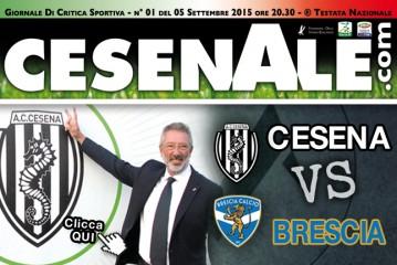 CESENA – BRESCIA 05-09-15 ORE 20.30