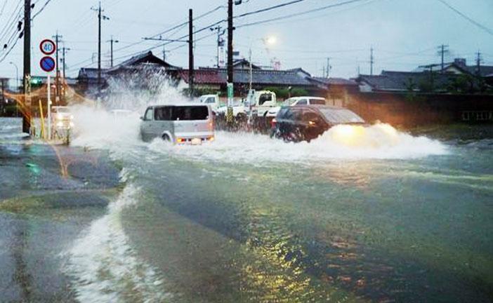 Giappone case distrutte dalla pioggia il popolano for Giappone case