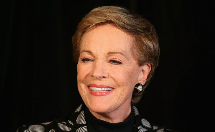 JULIE ANDREWS, 80 ANNI LUMINOSI