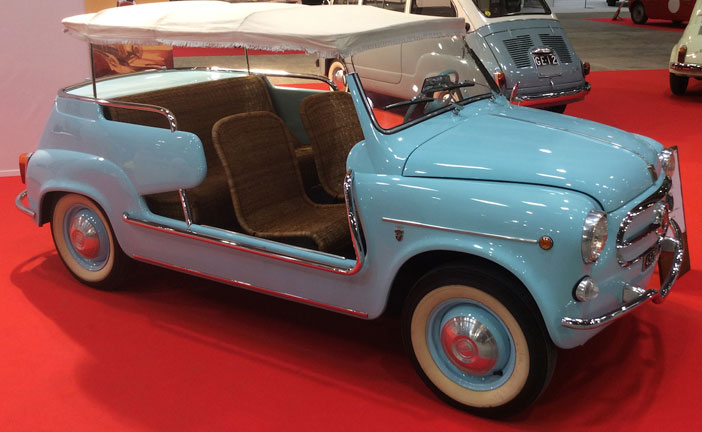 FIAT 600 JOLLY: VENDUTA A CIFRA RECORD