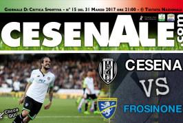CESENA – FROSINONE 31-03-2017 ORE 21