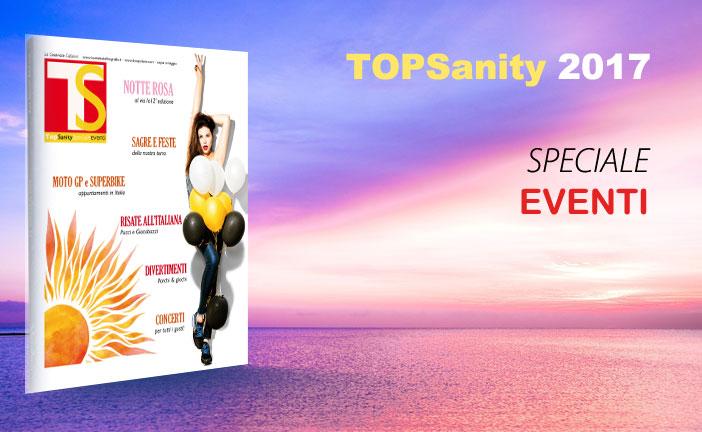 TOP SANITY SPECIALE EVENTI 2017