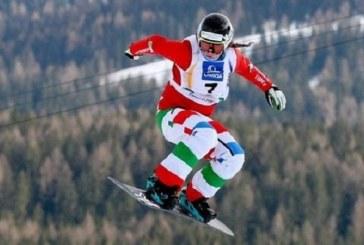 OLIMPIADI MAIOLI ORO SNOWBOARDER