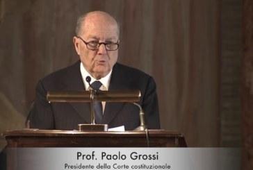 PAOLO GROSSI ASTENSIONE INACETTABILE