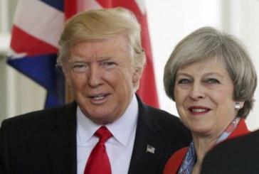 TRUMP A LONDRA INCONTRA LA MAY
