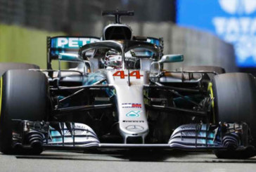 F1 GP SINGAPORE ANCORA HAMILTON