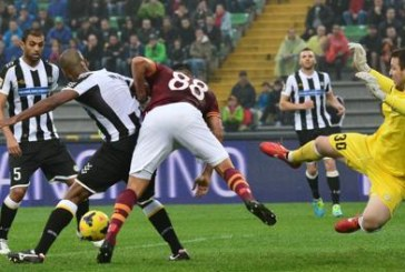 SERIE A UDINESE – ROMA 1-0