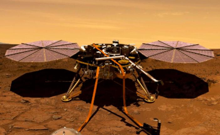 LA SONDA DELLA NASA E' SU MARTE