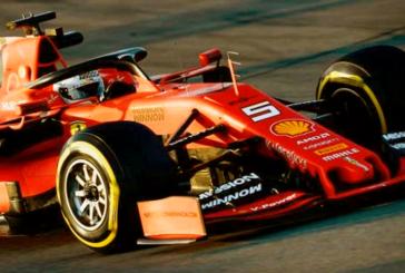 F1 TEST MONTMELO' LA FERRARI VOLA