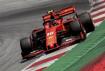 F1 AUSTRIA LECLERC IN POLE