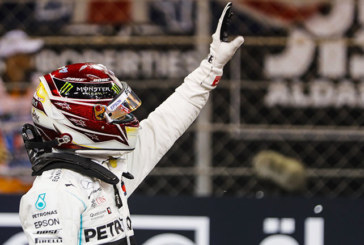 F1 HAMILTON RE DI ABU DHABI
