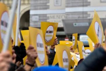 M5S IN PIAZZA A ROMA: MAI PIU' VITALIZI