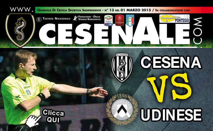 Anteprima Cesena Udinese