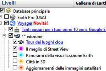 GOOGLE EARTH FESTEGGIA 10 ANNI