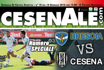 BRESCIA – CESENA 16-01-2016 ORE 15.00