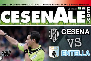 CESENA – ENTELLA 23-01-2016 ORE 15.00