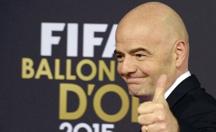INFANTINO NUOVO PRESIDENTE FIFA