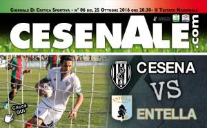 Anteprima Cesena-Entella