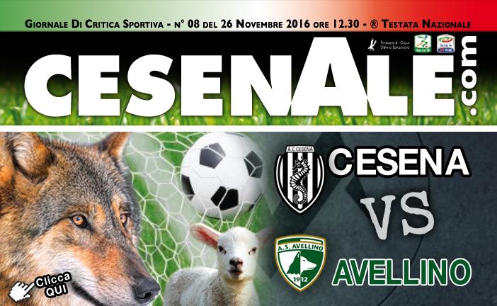 CESENA – AVELLINO 26-11-2016 ORE 15.00