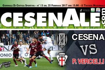 CESENA – P.VERCELLI 25-02-2017 ORE 15.00