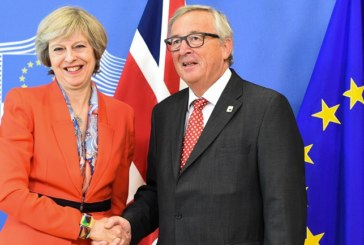 BREXIT JUNCKER INCONTRA MAY
