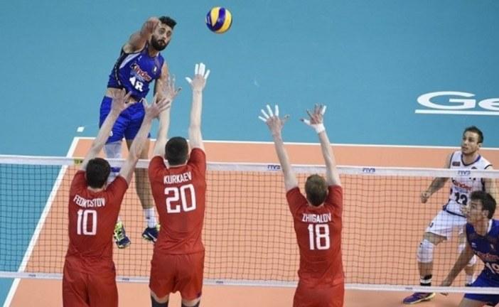 MONDIALI WOLLEY ITALIA-RUSSIA 2-3