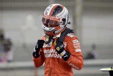 F1 GP BELGIO LECRERC IN POLE