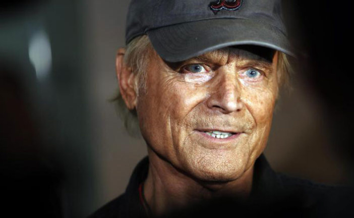 TERENCE HILL HA 80 ANNI