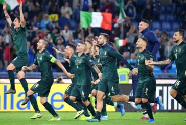 ITALIA VERDE QUALIFICATA A EURO 2020