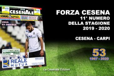 CESENALE' 2019 – 2020 / Cesena Vs Carpi