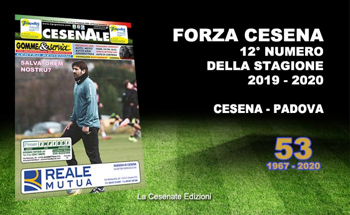 CESENALE' 2019 – 2020 / Cesena Vs Padova