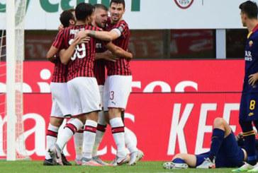 SERIE A MILAN IMPLACABILE SULLA ROMA 2-0