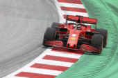F1 FERRARI PIOVE SUL BAGNATO IN AUSTRIA