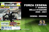 CESENALE' 2020 – 2021 Cesena vs Modena