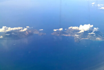 IN VOLO SULLE ISOLE EOLIE