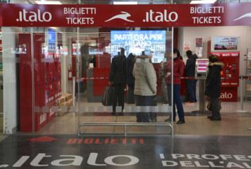 ITALO DAL 10 NOVEMBRE QUASI FERMO
