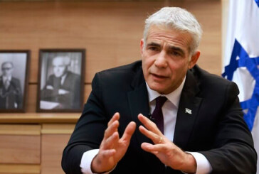 ISREALE LAPID FORMA IL NUOVO GOVERNO