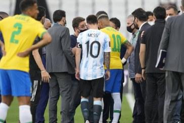 MONDIALI INTERROTTA BRASILE – ARGENTINA